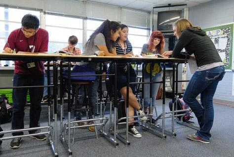 Why 21st Century Classrooms May Soon Have Quot Standing Quot Room
