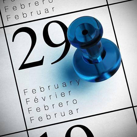 Adjust Your Calendars - February 2016 Has 29 Days!