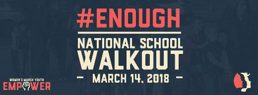 American Students Stage A National Walkout To Plea For Stricter Gun Laws