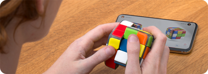 The Iconic Rubik's Cube Goes Hi-Tech!