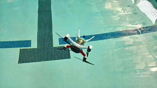 A Drone That Can Fly And Swim? Sweet!