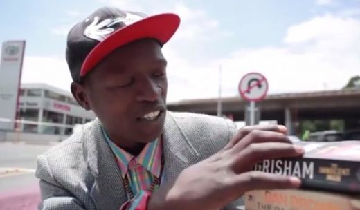 South Africa's 'Pavement Bookworm' Wants Everyone To Read