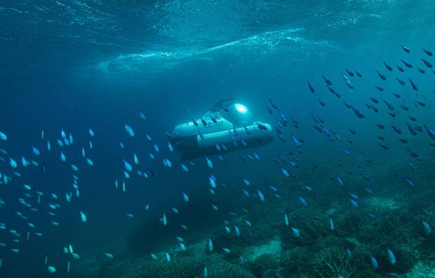 Wish To Explore The Great Barrier Reef? Hail A scUber, The World's First Ride-Share Submarine