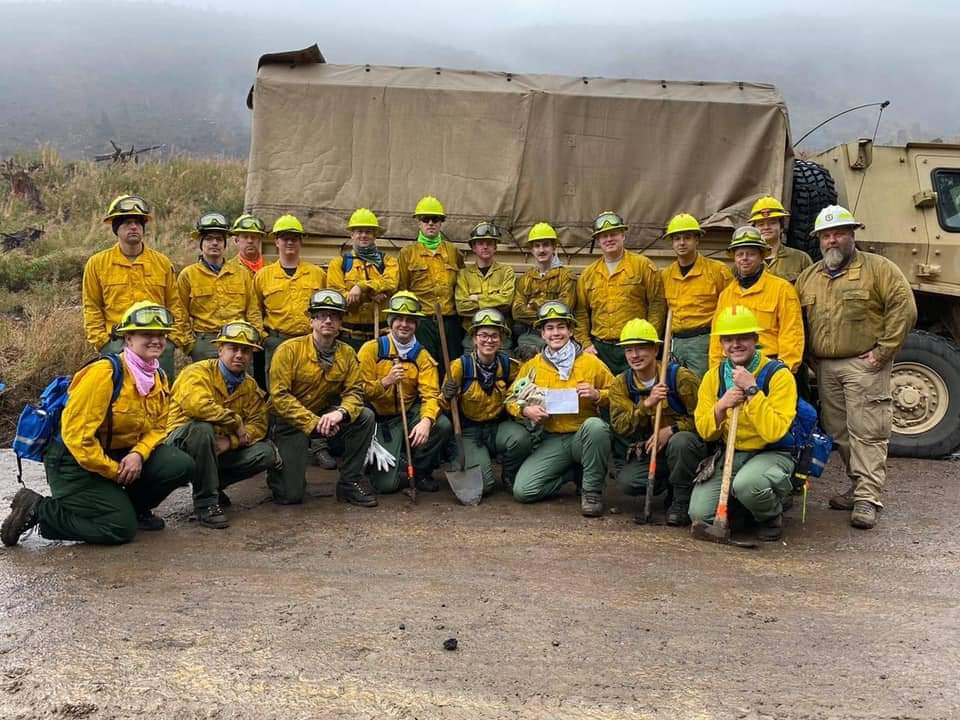 Baby Yoda Joins Oregon Firefighters In Battling Wildfires