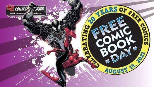 8月14日是免费漫画书日!