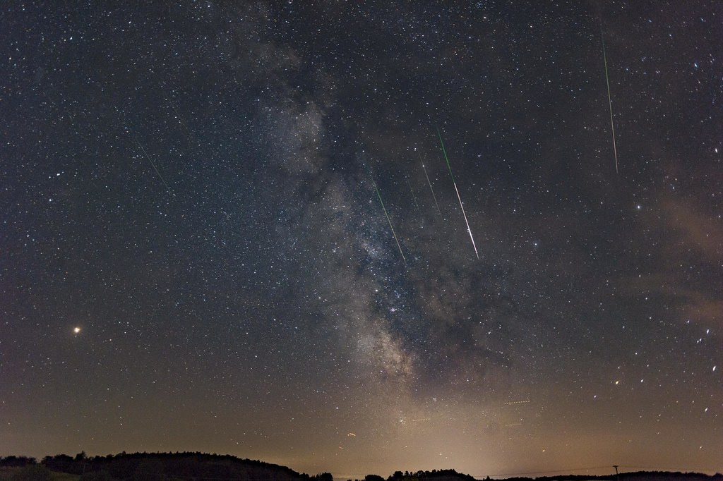 Scientists said the threat of collision of the Earth with meteor shower