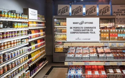 Dutch Supermarket Leads The Way To A Cleaner Planet With A Plastic-Free Aisle