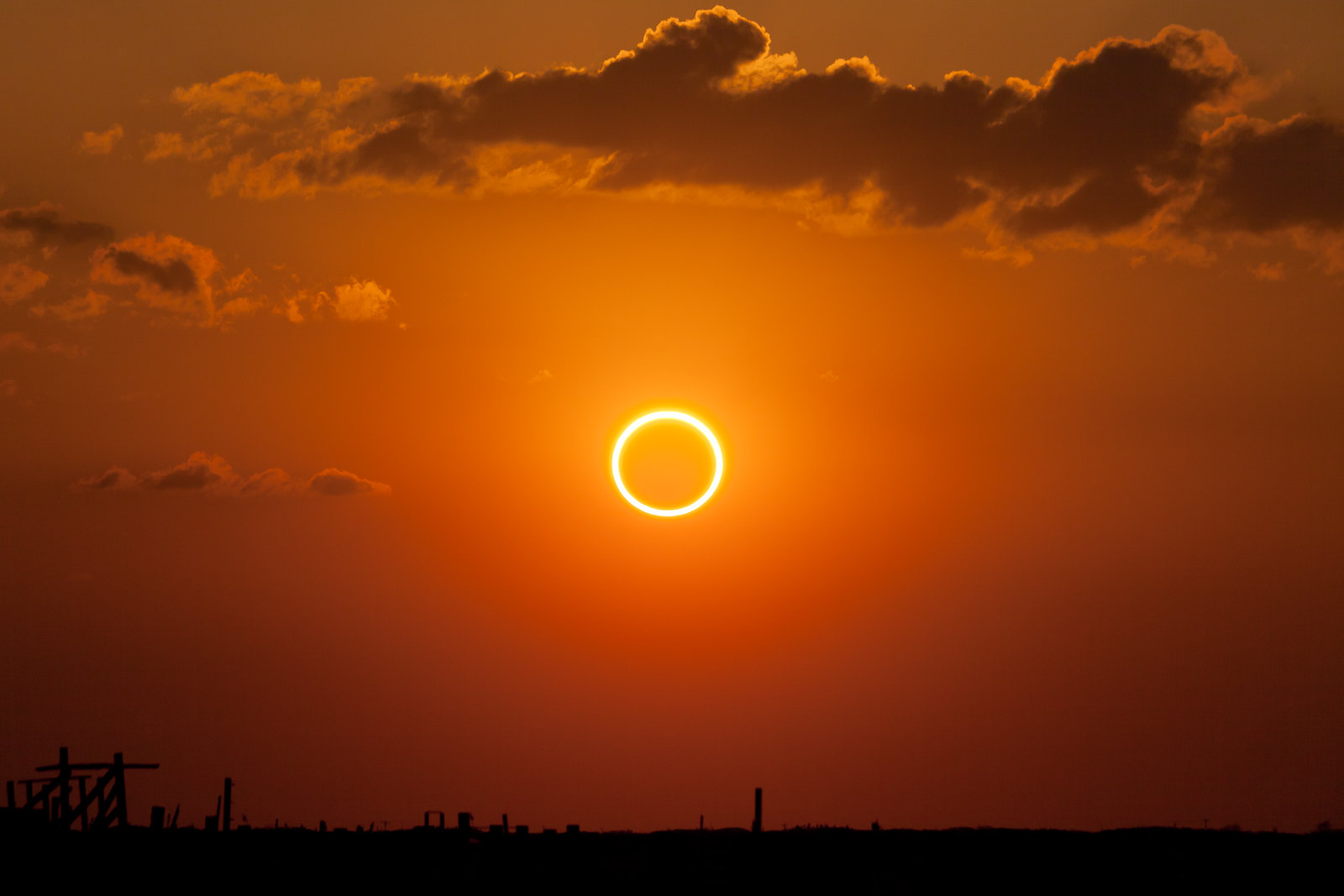 "Father's Day 2020 Will Coincide With A Spectacular ""Ring Of Fire"" Annular Solar Eclipse"