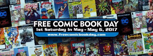 Free Comic Book Day Is Just A Week Away!