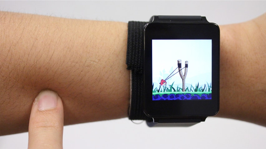 SkinTrack Technology Transforms Your Arm Into A Smartwatch Touchpad
