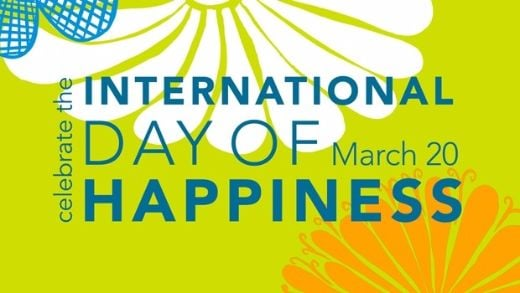 Rejoice! It's The First Day Of Spring And International Day Of Happiness!