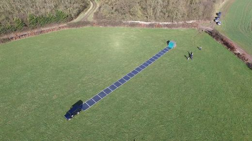 Portable Solar Panels Put To Test On Flat Holm Island