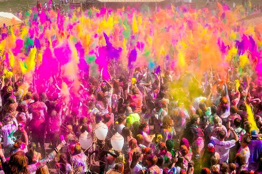 Holi, The Joyous Festival Of Colors, Is This Sunday!