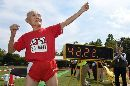 "Video Of The Week -  Japan's 105-Year-Old ""Golden Bot"" Is The World's Oldest Competitive Sprinter"