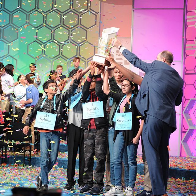 Scripps National Spelling Bee Word List 2020.The 92nd Scripps National Spelling Bee Ends In A Historic