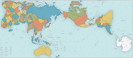 Japan's Prestigious Good Design Award Goes To . . . A World Map?