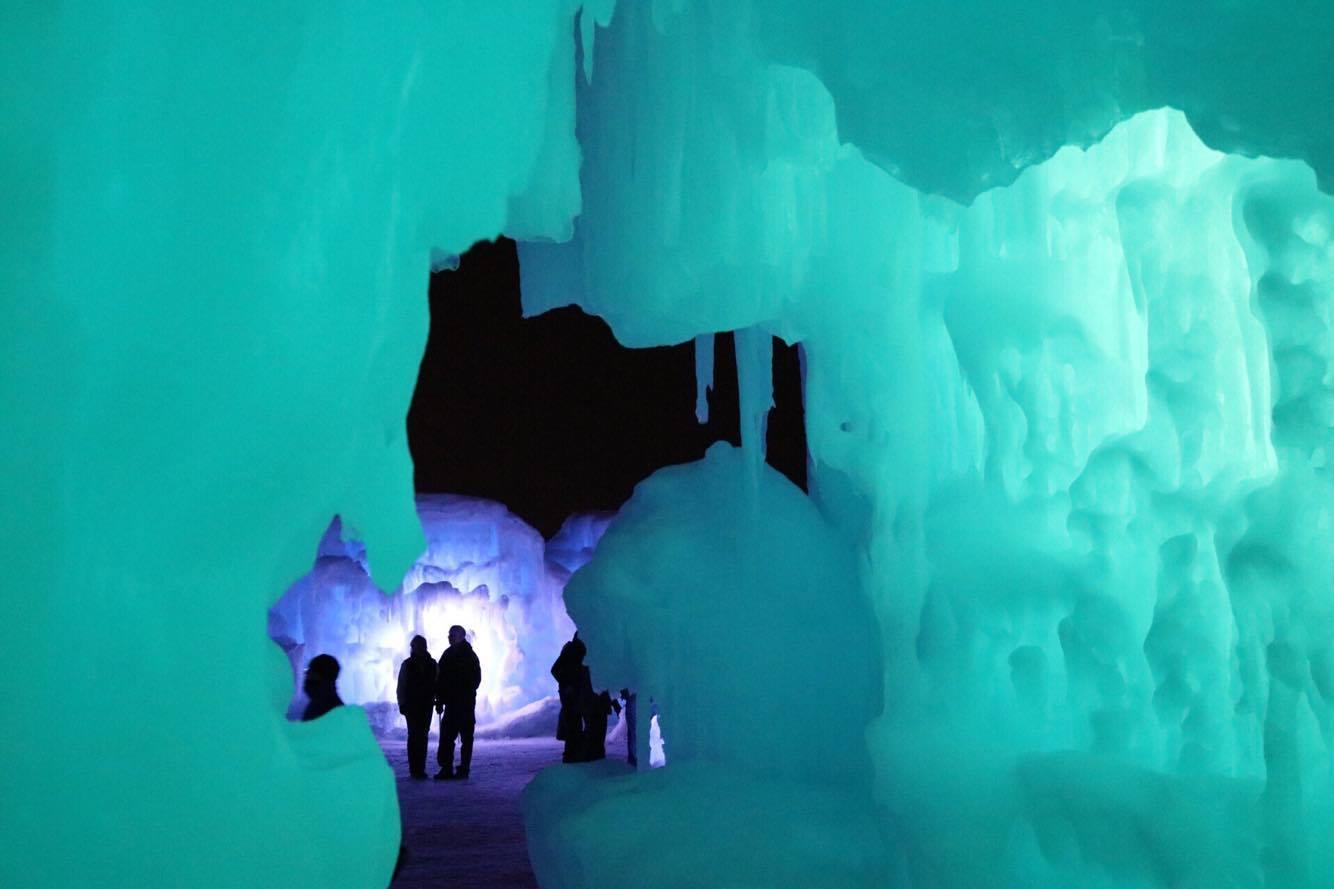 Ice Castles Worthy of Queen Elsa Kids News Article