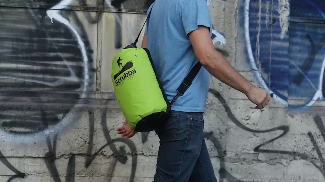 Ingenious Backpack Doubles Up As A Portable Laundry Machine Kids News  Article