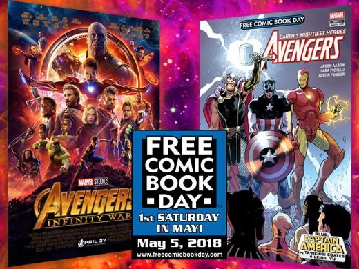 Don't Forget To Get Your Free Comic Book (Or Two) On May 5