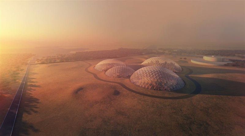 UAE Plans To Build The First Prototype Of A Martian City On Earth