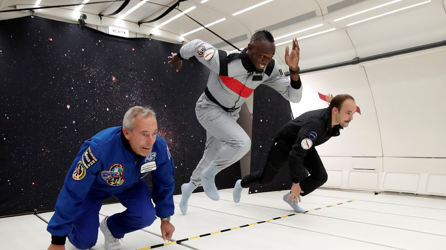 Usain Bolt, Fastest Human On Earth . . . And Space?