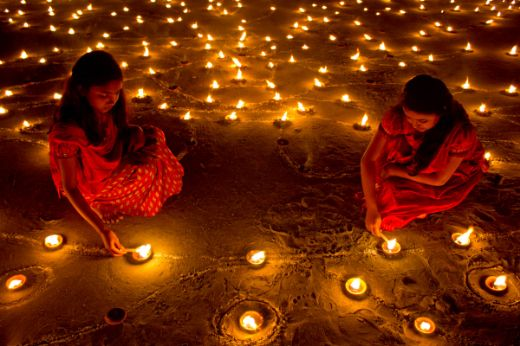 Celebrating Diwali, The Hindu Festival Of Lights