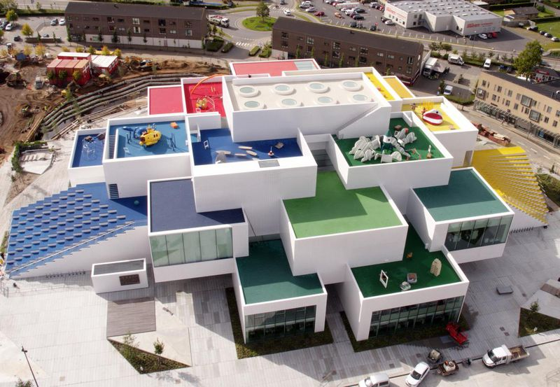 """LEGO's Massive """"Home Of The Brick"""" Delights Fans In Denmark"""