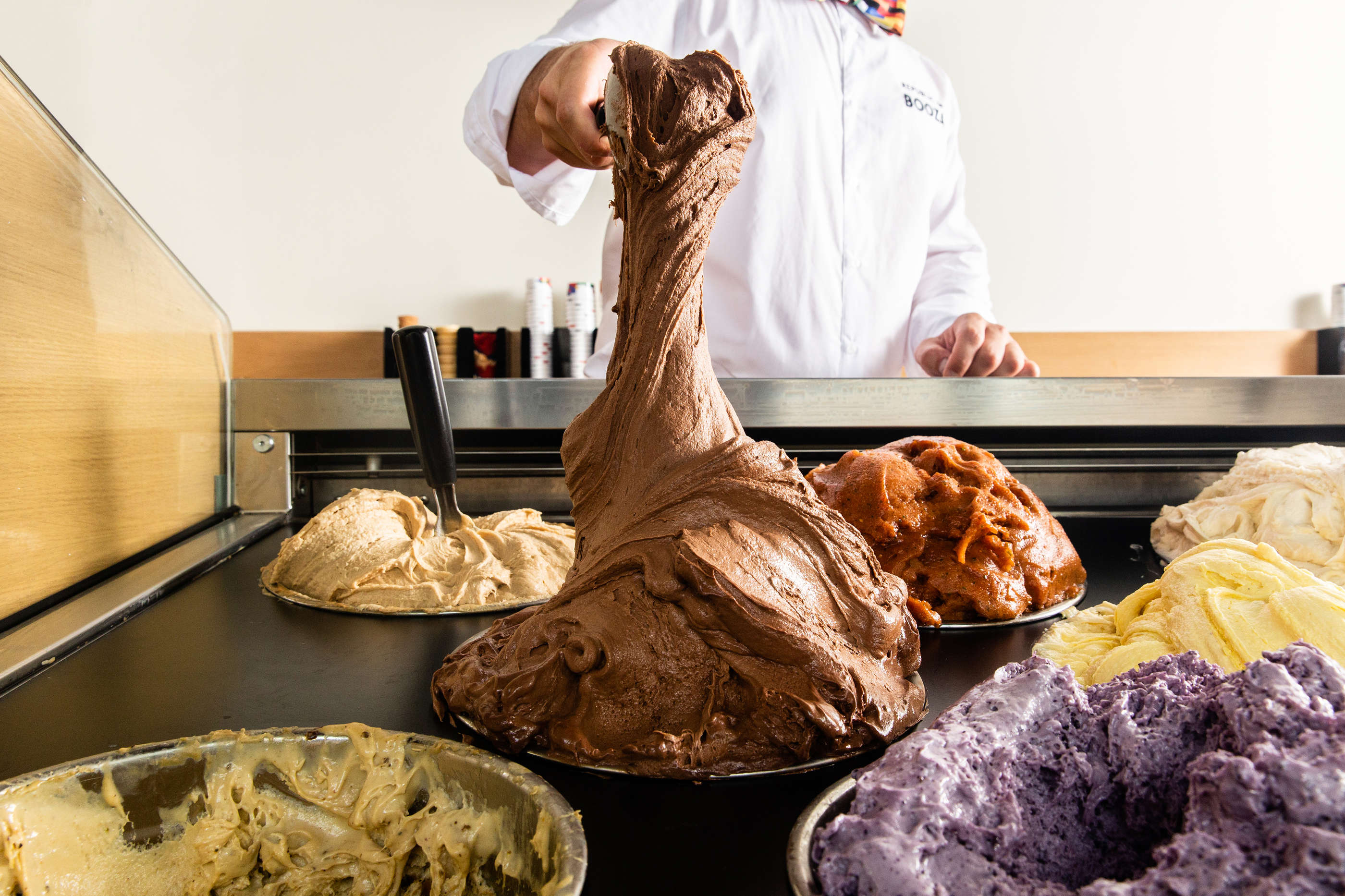Republic Of Booza's Stretchy Ice Cream Is Made Using A 500-Year-Old Technique