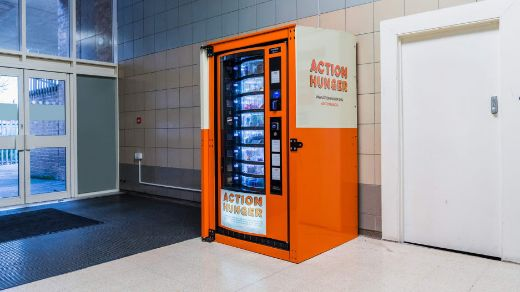 Vending Machine Dispenses Essentials To UK's Homeless