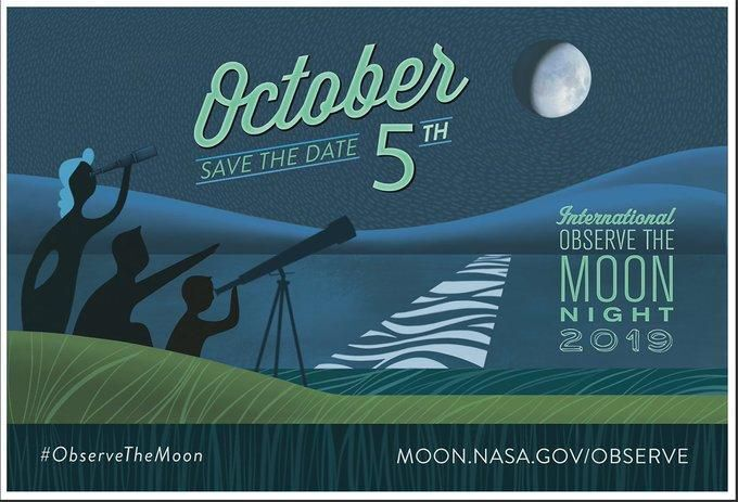 International Observe The Moon Night Is On Saturday, October 5!