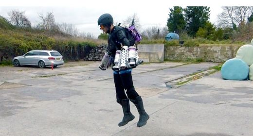 Iron Man's Flight Suit Is Now A Reality!