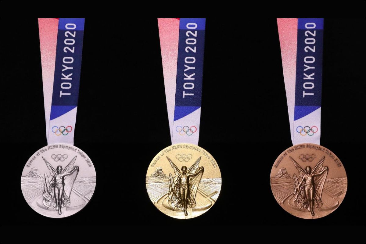 Tokyo 2020 Olympic Medals Are Made From Recycled Cell Phones