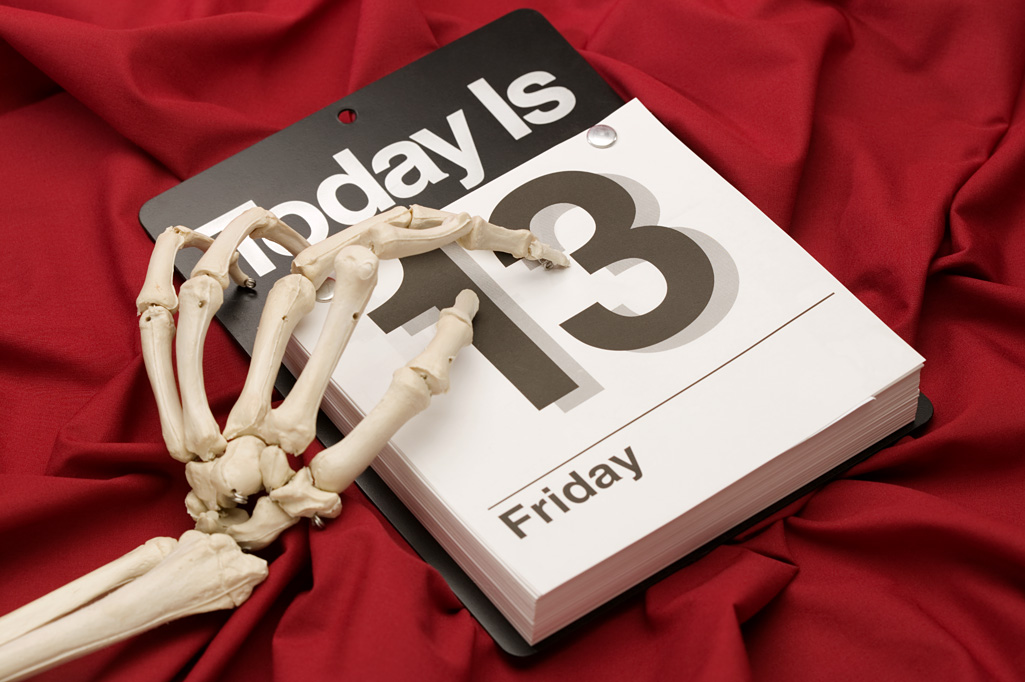 Image result for friday the 13th unlucky