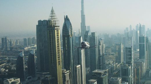 Drone Taxis To Debut In Dubai This Summer