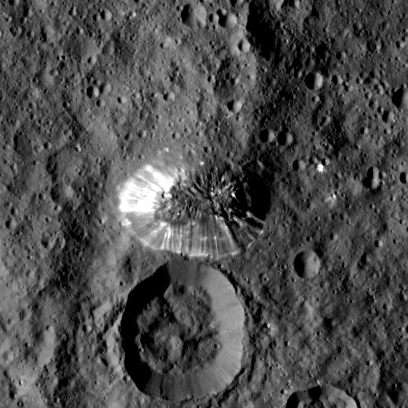 Kerberos Moon Of Plluto: Volcanoes On Dwarf Planet Ceres Ooze Ice Instead Of Lava