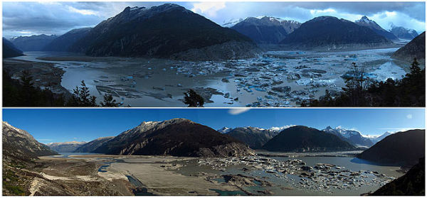 Global warming causes lakes to disappear in Chile