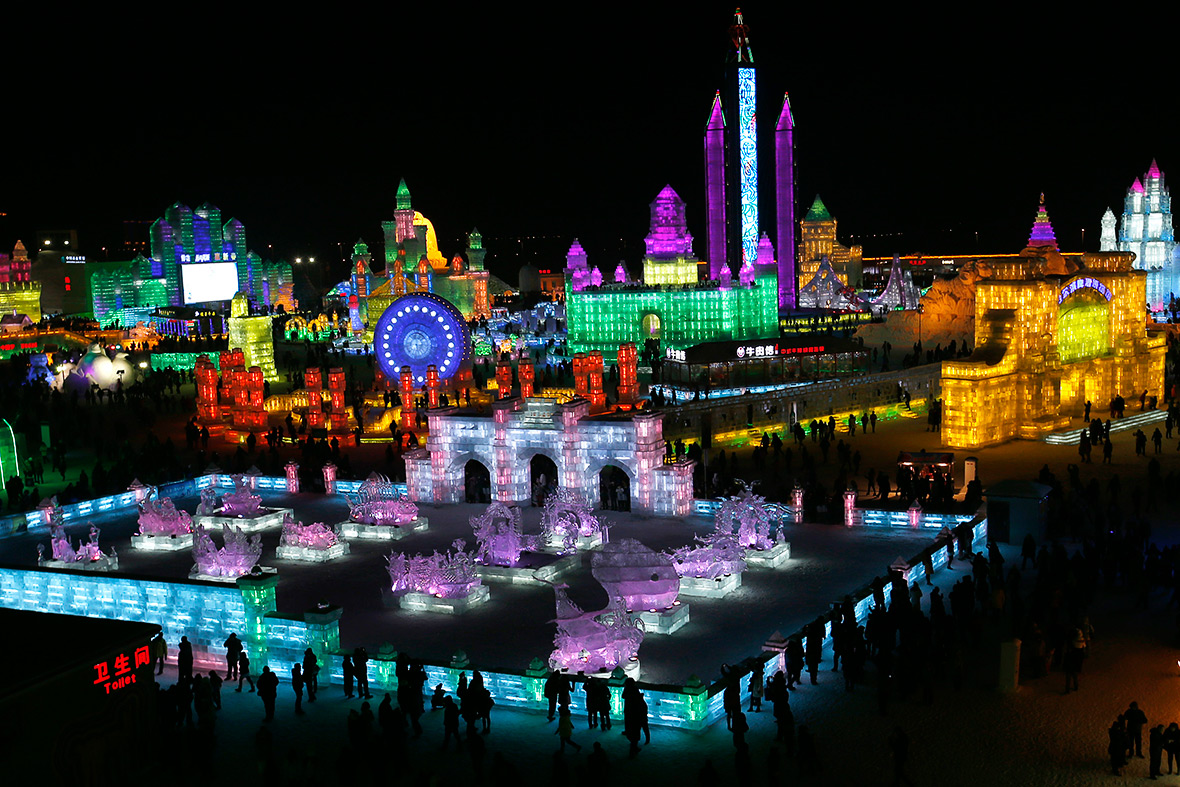 Harbin's Ice And Snow Festival Never Fails To Amaze Kids