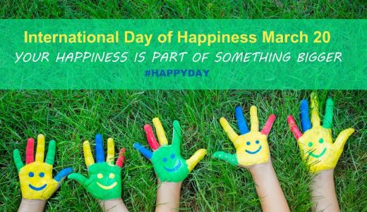 International Day Of Happiness Celebrates Togetherness