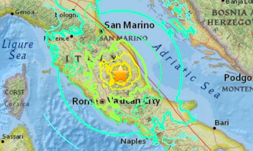 Powerful Earthquakes Rock Italy And Myanmar Hours Apart On Wednesday