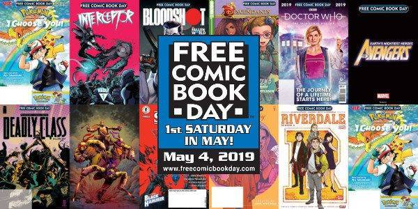 Free Comic Book Day 2019 Offerings Include Special Issue Of The Avengers And More!