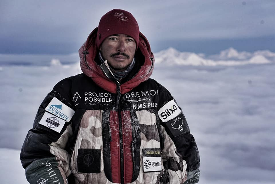 "Nepalese Mountaineer Nirmal ""Nims"" Purja Conquers World's 14 Highest Peaks in Six Months!"