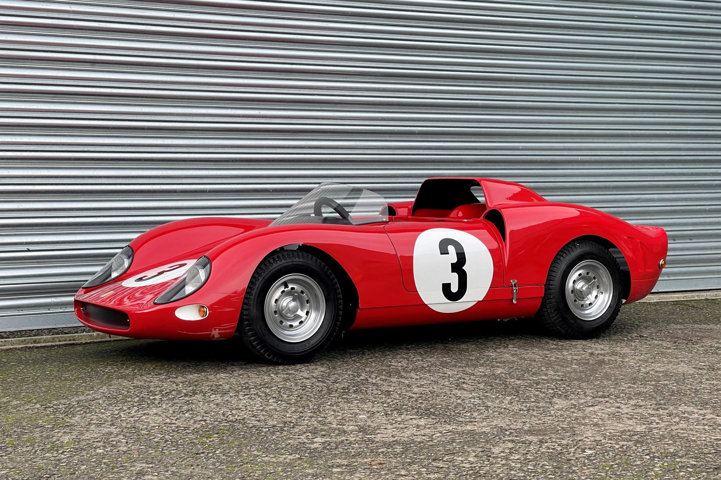 Children's Ferrari Replica Sets A New Price Record At Paris Auction