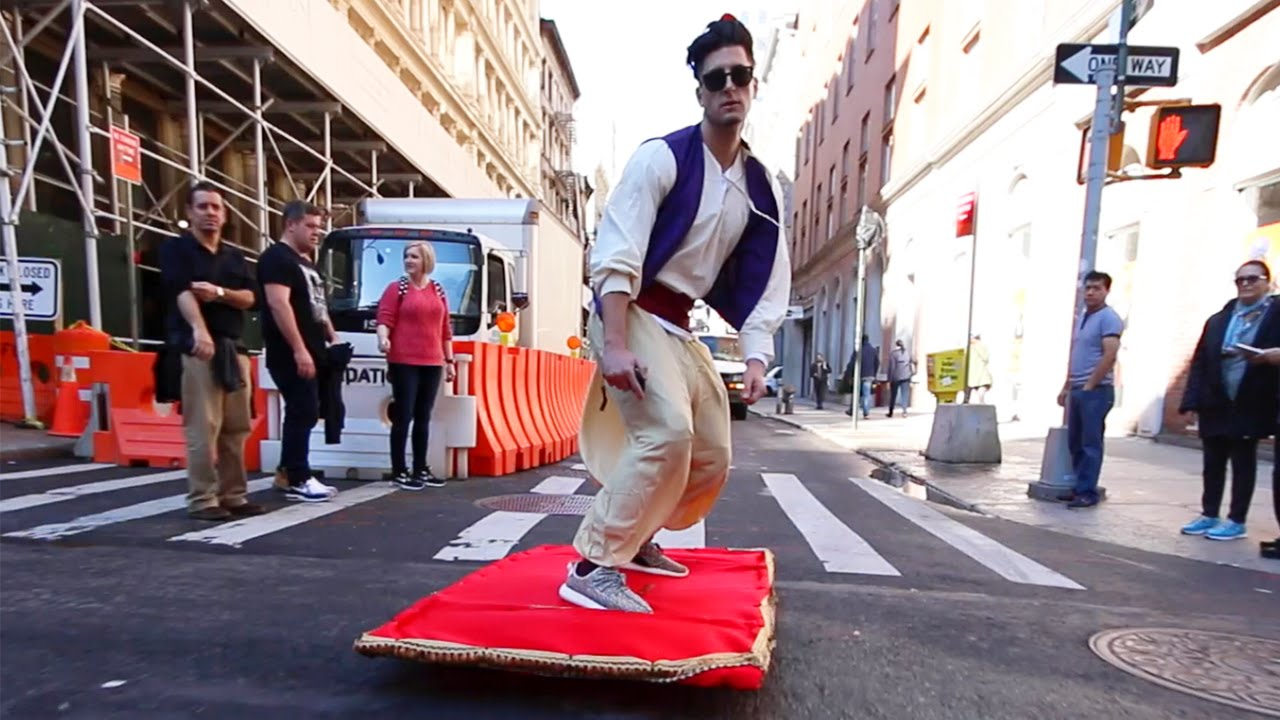 "Video Of The Week - Aladdin And His ""Magic Carpet"" Take New York City By Storm"
