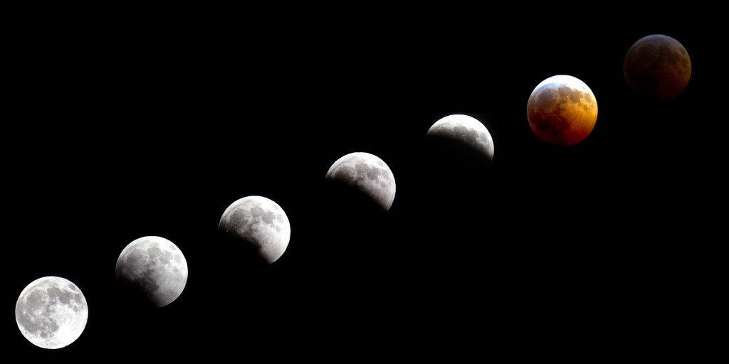 2010 lunar eclipse in Alaska