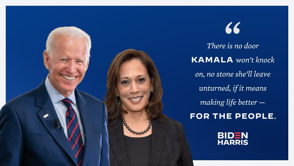Joe Biden Announces Kamala Harris As His Running Mate For The 2020 Presidential Elections