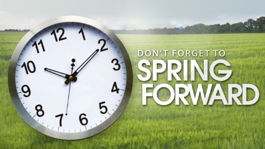 Rejoice! It's Time To Spring Forward!