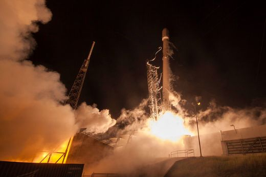 SpaceX Makes History With Successful Launch And Landing Of Recycled Rocket