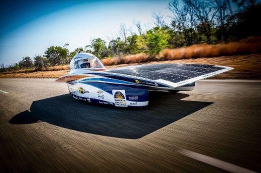 Solar Powered Cars Race Across the Australian Outback