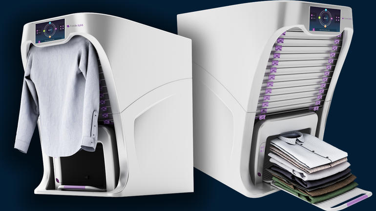 Image result for Foldimate, a machine that folds your laundry