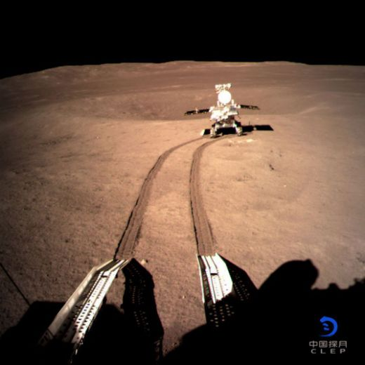 Chinese Spacecraft Is The First To Land On The Moon's Far Side